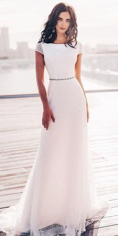 24 Modest Wedding Dresses Of Your Dream ? modest wedding dresses sheath with cap sleeves sequins dioni ru ? : 24 Modest Wedding Dresses Of Your Dream ? modest wedding dresses sheath with cap sleeves sequins dioni ru ? Wedding Dresses Near Me, Western Wedding Dresses, Wedding Dresses Plus Size, Designer Wedding Dresses, Modest Wedding Dresses With Sleeves, Western Weddings, Asian Bridal Dresses, Bridal Gowns, Long Sleeve Wedding