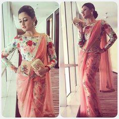 Rashmi Desai in @AnkitaJunejaOfficial couture.  by desi_couture