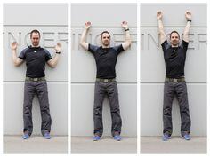 Wall-Angles als Anti-Sitz-Übung