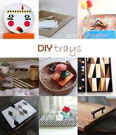 Ohoh Blog - diy and crafts: DIY Monday # Tray