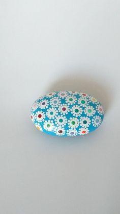 Individually hand painted mandala rocks