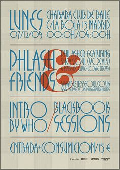 Tantalizing typography.