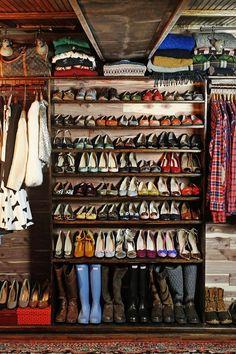 I wish I had this many shoes
