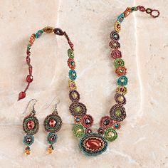 Maya Beaded Earrings