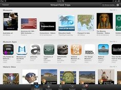 Virtual Field Trips: Featured App Store Collection This Week