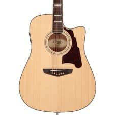 D'Angelico SD400 Brooklyn Natural- Acoustic Electric Guitar w/Hardshell Case