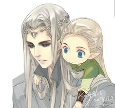 That's a good drawing of young Thranduil. I think Thrands probably looked like…