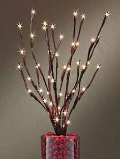 Battery Powered Lighted Willow Branch | Via Solutions Catalog