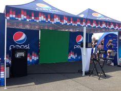 Pepsi Green Screen Photo Station at Summer Jam 2013!  MetLife Stadium