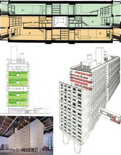 Unite d'Habitation: L'Original Modern Anti-Zombie Fortress?   Designs