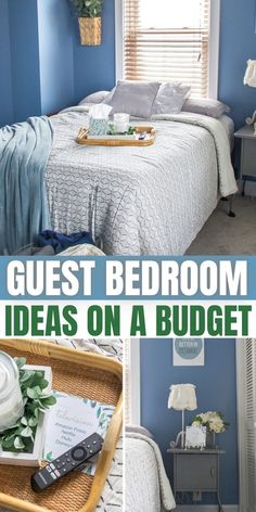 Put together a small guest bedroom on a budget with these inexpensive tips and ideas.