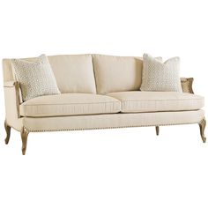 Caracole Two Comfortable Sofa UPH-SOFWOO-45A