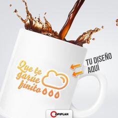 #EnCopiplanHacemos tazas personalizadas. Para regalos empresariales, personales o simplemente para vos. Entra en http://copiplan.com.uy/ y mandanos tu diseño.
