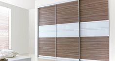 Closet Door Storage, Bedroom Closet Doors, Room Doors, Wardrobe Interior Design, Interior Trim, Sliding Door Systems, Sliding Doors, Grey Garage Doors, Vintage Pantry