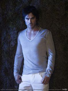 Bite me Damon... PLEEEEASE.. Ian Somerhalder of The Vampire Diaries.