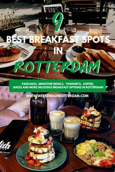 9 Best Breakfast spots in Rotterdam Are you looking for breakfast spots in Rotterdam, the Netherlands? Rotterdam has a … Europe Destinations, Europe Travel Tips, Travel Guides, European Travel, Travel Advice, Breakfast Options, Best Breakfast, Florida Vacation, Best Places To Eat