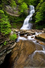 Cathedral Falls, West Virginia. I want to go see this place one day. Please check out my website thanks. www.photopix.co.nz