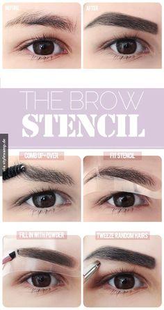 DIY: Augenbrauen formen :)