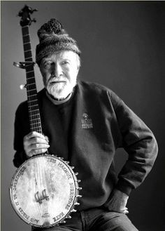 """If there's something wrong, speak up!"" Pete Seeger. RIP Pete, Jan. 29, 2014"