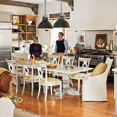 Seating for Eight - Dream Kitchen Must-Have Design Ideas - Southern Living