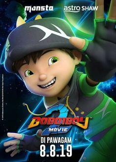 So cute! Galaxy Movie, Boboiboy Galaxy, Anime Galaxy, Super Hiro, Villain Names, In Cinemas Now, Boboiboy Anime, Elemental Powers, Two Movies