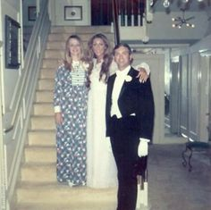 Linda Thompson and her brother at Graceland before 'Red Period'
