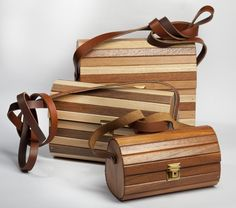 Handcrafted Designer Wooden Bags with adjustable strap , very light in weight , strong quality , water rsistant and durable . Wooden Bag, Cape Town, Water, Bags, Strong, Design, Gripe Water, Handbags