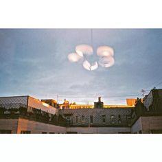 visiting parents / #bratislava #hometown #homemade #food #yes #love #architecture #light #sun #chandelier #35mm #istillshootfilm #filmisnotdead #neniakovino