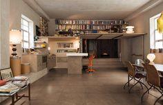 Vloertegels met een kleurtint die voor een warme uitstraling zorgt van Refin Bricklane.