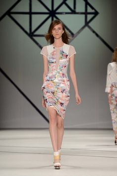 Ginger and Smart from Mercedes Benz Fashion Week