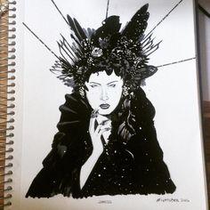 "54 curtidas, 4 comentários - Leonardo Menezes (@leonardomenezes) no Instagram: ""My contribution for This year's INKTOBER #inktober #dayone #sketch #sketchbook #illustration…"""