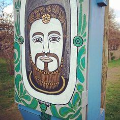 My muse @ marja st #streetart #tartu #supilinn #tänavakunst #mystreet #Estonianstreetart #kairo