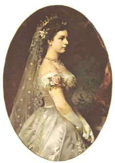 Sisi on her wedding day