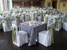 White and Gold Wedding. Room views