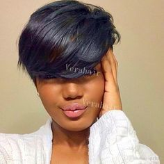 Braids Really Cool African Hairstyles Black Hair Styles Relaxed, Relaxed Hair, Natural Hair Styles, Short Sassy Hair, Short Hair Cuts, Short Hair Styles, African Hairstyles, Wig Hairstyles, Black Hairstyles