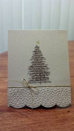 Silent Night Crumb Cake Evergreen by zipperc98 - Cards and Paper Crafts at Splitcoaststampers