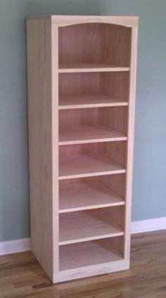Building a Shaker Pine Bookcase | Brian Benham