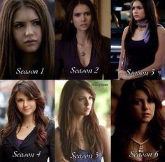 Season 1,season 2,season 3,season 4,season 5,season 6. <3
