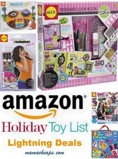 MamaCheaps.com: Schedule for Today's TOY Lightning Deals on Amazon (11/8) – ALEX Craft Kits, New Balance Kids Running Shoes