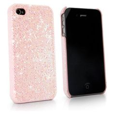 BoxWave Glamour & Glitz iPhone 4S Case - Slim Snap-On Glitter Case, Fun Colorful Sparkle Case for your iPhone! - iPhone 4S / 4 Cases and Covers (Princess Pink)