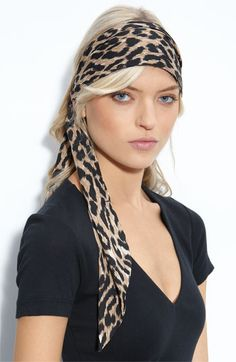 Bring back head bands and scarves.  I used to wear a headband every day.  With my high forehead, it was a good look!  I may try this.