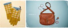 adore the monogrammed satchel
