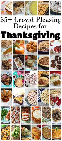 Looking for interesting last-minute ideas? 35+ Traditional + Alternative #Thanksgiving Recipes -  #recipe