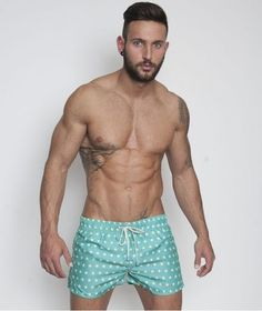 CAN WE HANG OUT? | 17 Photos That Prove Short Swim Trunks For Men Are Heaven On Earth?