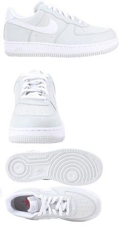 i ragazzi le scarpe nike air force 57929: 1 g basso 596728 182 bianco nero
