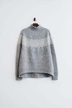Ravelry: amiijjang's Monochrome Pullover