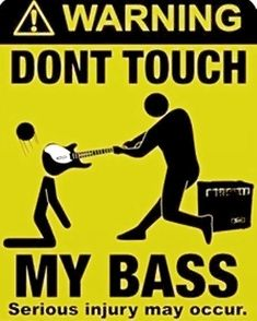 Bass Guitar Life has members. Where cool bass players hang out to discuss all things bass guitar. Bass Guitars For Sale, Music Jokes, Funny Music, Bass Guitar Lessons, Dont Touch Me, Music Guitar, Serious Injury, Songs, Learning