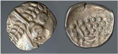Durotriges AR stater, ca 58-35 BC. 20mm. Abstract head of Apollo right / Disjointed horse left. VA 1235,52,54,55, Mack 317; Spink 366