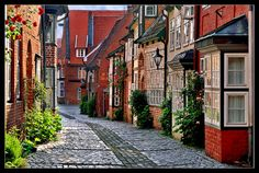 """Lüneburg """"Auf dem Meere"""" III. von Helga Kamerling"""