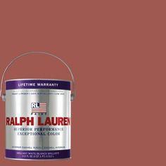 Ralph Lauren 1-gal. Nantucket Red Eggshell Interior Paint-RL2193E - The Home Depot